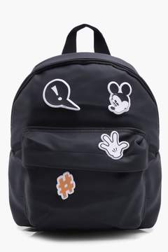 boohoo Boys Customisable Micky Mouse Backpack