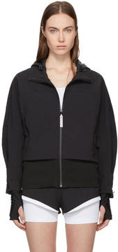 adidas by Stella McCartney Black ClimaStorm Running Trail Jacket