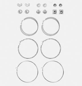 Avenue Textured Stud Earring Set