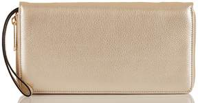 Brahmin Moonlit Collection Metallic Skyler Travel Wallet