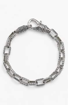 Konstantino Men's 'Classics' Etched Link Bracelet