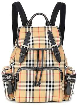 Burberry The Medium leather-trimmed backpack