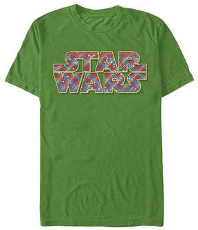 Fifth Sun Star Wars Kelly Wrapping Logo Tee - Men's Regular