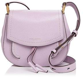 Marc Jacobs Maverick Mini Leather Shoulder Bag - PALE LILAC/GOLD - STYLE