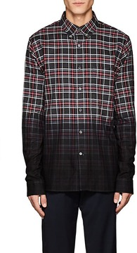 Public School Men's Enver Plaid Cotton Button-Down Shirt