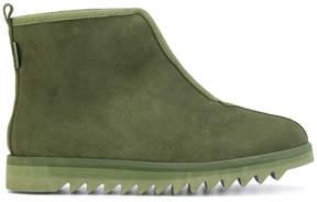 Suicoke zipped ridged sole boots