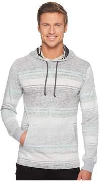 VISSLA Bartlett Long Sleeve Pullover Hoodie Men's Clothing