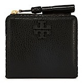 Tory Burch Taylor Mini Wallet - BLACK - STYLE