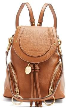 See by Chloe Olga Leather Backpack - Womens - Tan