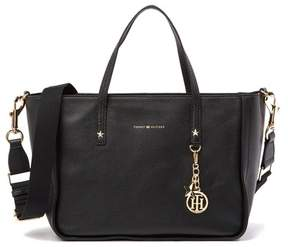 Tommy Hilfiger City Faux Pebble Leather Tote