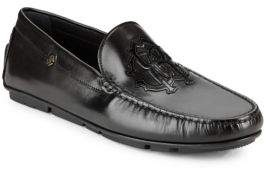 Roberto Cavalli Crest Leather Drivers