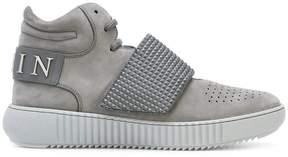 Philipp Plein Skull Yellow hi-top sneakers
