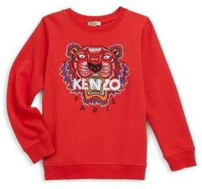 Kenzo Toddler's, Little Boy's & Boy's Cotton Tiger Print Sweater