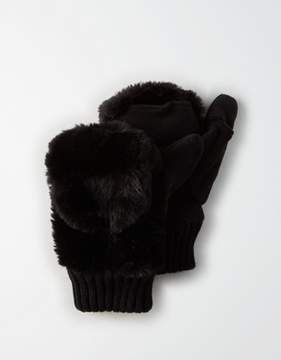 American Eagle Outfitters AE Faux Mink Mitten