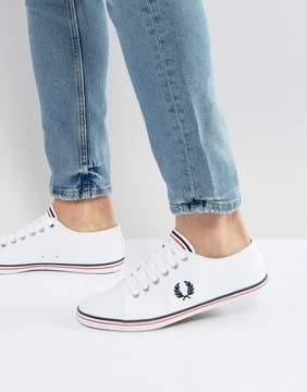 Fred Perry Kingston Twill Sneakers White