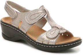 Clarks Women's Lexi Walnut Wedge Sandal