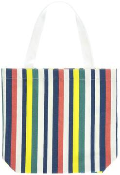 Forever 21 Striped Shopper Tote Bag