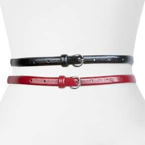 Apt. 9 Skinny Belt Set