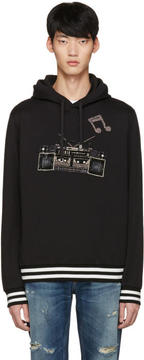 Dolce & Gabbana Black Boombox Hoodie