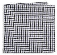 Hickey Freeman Two Tone Hounds Cotton Handkerchief