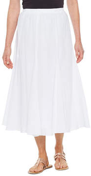 Alfred Dunner Turks And Caicos Gauze Skirt