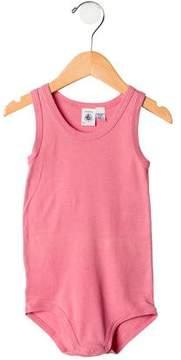 Petit Bateau Girls' Sleeveless Bodysuit