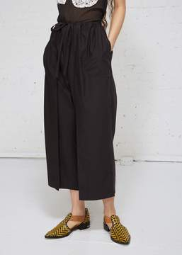 Aalto Front Pleat Cropped Trousers