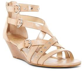 Isola Petra Strappy Studded Wedge Sandal