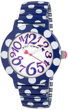 Betsey Johnson Women's Polka Dot Expansion Watch
