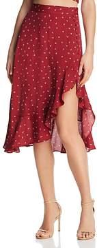 For Love & Lemons La Lana Flutter Skirt