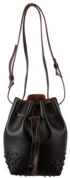 Tod's Leather Wave Bucket Bag