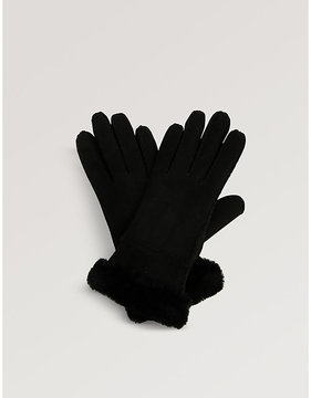 UGG Slim Tech sheepskin gloves
