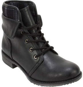 White Mountain Cliffs By Cliffs by Nadelle Ankle Cuffed Combat Boot (Women's)