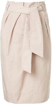 ESTNATION high-waisted straight skirt