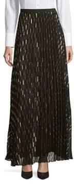 Eliza J Pleated Maxi Skirt