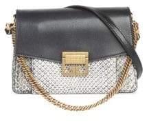 Givenchy GV3 Small Python Shoulder Bag
