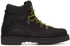 Diemme Black Shaggy Mohawk Roccia Boots
