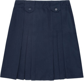 JCPenney French Toast Pleated Tab Skirt - Girls 7-20 and Plus