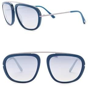 Tom Ford 57mm Top Bar Sunglasses