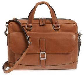 Frye Men's Oliver Leather Briefcase - Brown