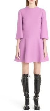 Valentino Women's Wool & Silk Crepe Flare Dress