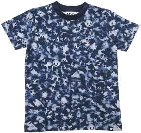 Molo Camo Animals Print Cotton Jersey T-Shirt