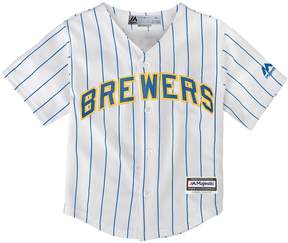 Majestic Toddler Milwaukee Brewers Jersey