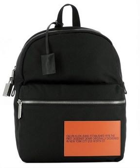 Calvin Klein Men's Black Fabric Backpack.