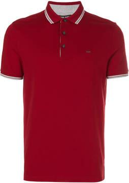 Michael Kors monogram polo shirt