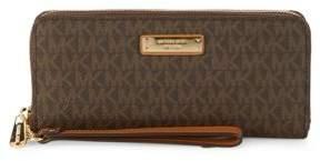MICHAEL Michael Kors Zip-Around Wristlet-Strap Wallet
