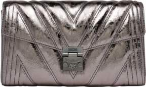 MCM Millie Flap Crossbody In Quilted Metallic Leather