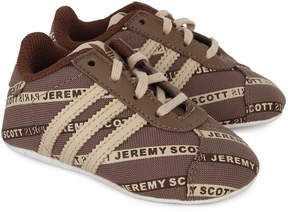 adidas Jeremy Scott Logo Crib Shoes