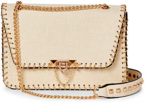 Urban Expressions Cream Tatiana Chain Crossbody