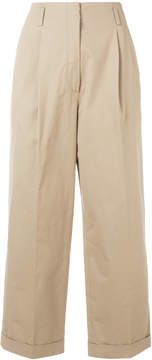 Odeeh wide leg cropped pants